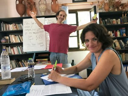 The ikarian experience of Eli, a student form Israel