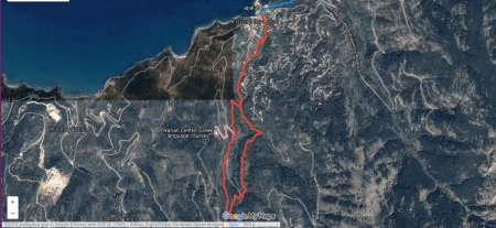 Pathways: Hiking Ikaria's mountains with our map.