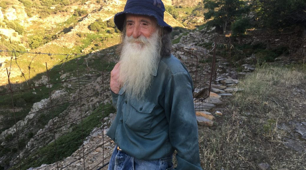 Island Ikaria, a blue zone: Forget to die, seminar on longevity