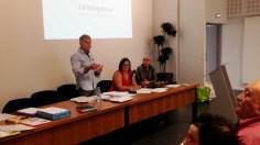 Thierry Delobel présente le bilan annuel