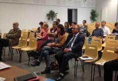 L'inspecteur d'académie,Pierre Barrière écoute le bilan des parents d'élèves pa