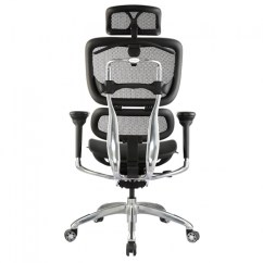 Ergonomic Chair Brisbane Accent Black Affordable Executive Office Gold Coast Ikcon Bodyline