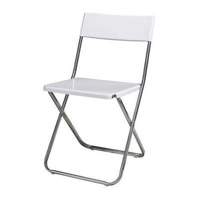 jeff chaise pliante blanc