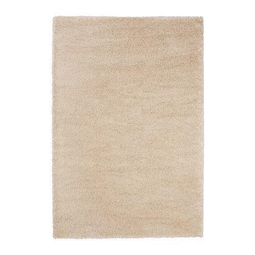 tapis adum long poil blanc avec une touche de 200x300 cm