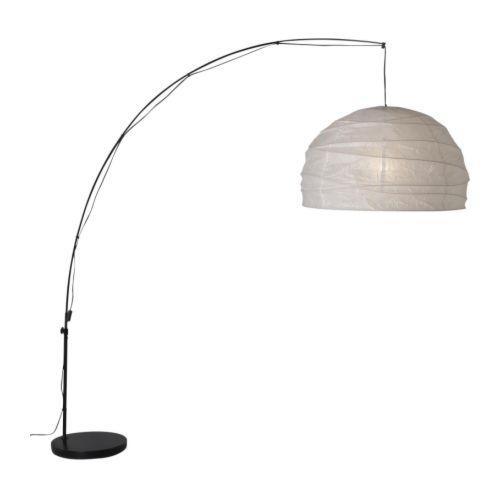 regolite lampadaire courbe