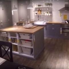 Kitchen Islands Ikea Blendtec Mill 厨房内部宜家 照片 宜家灰色厨房 岛屿和用餐区