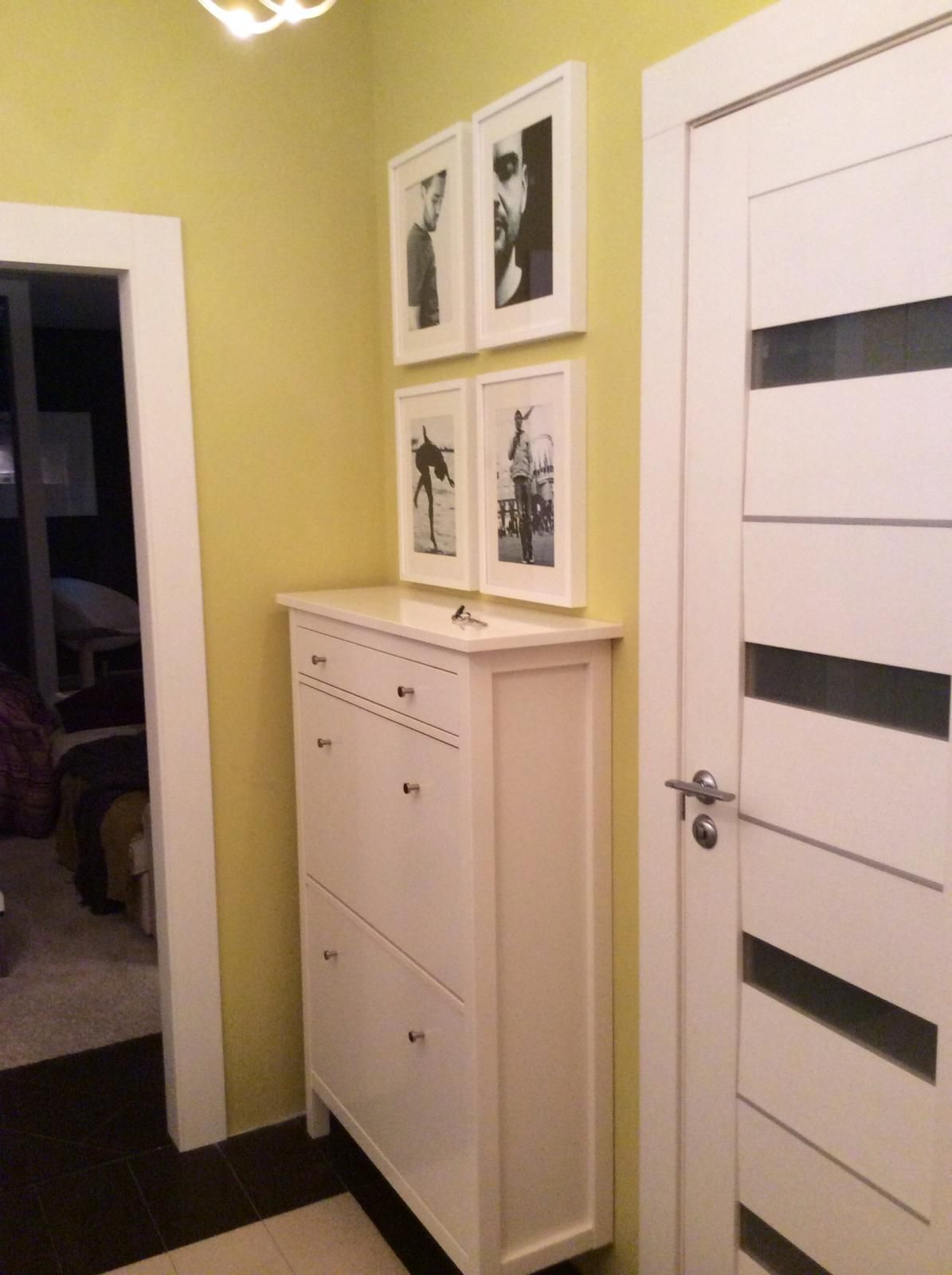 white kitchen cabinet doors nook tables hemnes shoe in the hallway olive