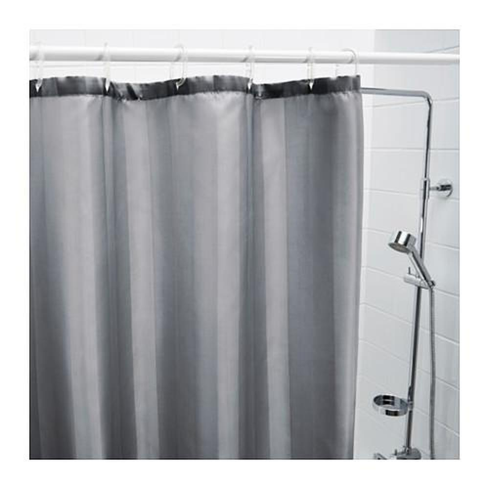saltgrund rideau de douche gris