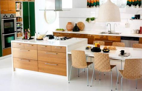 kitchen desk magic grill 厨房桌子和台面宜家 选择的秘密 厨房的桌子
