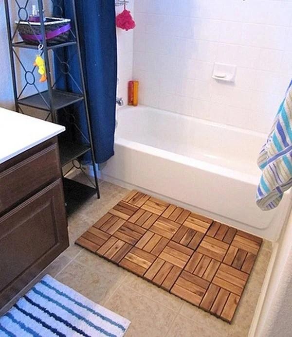 revetements de sol tapis de bain ikea platt