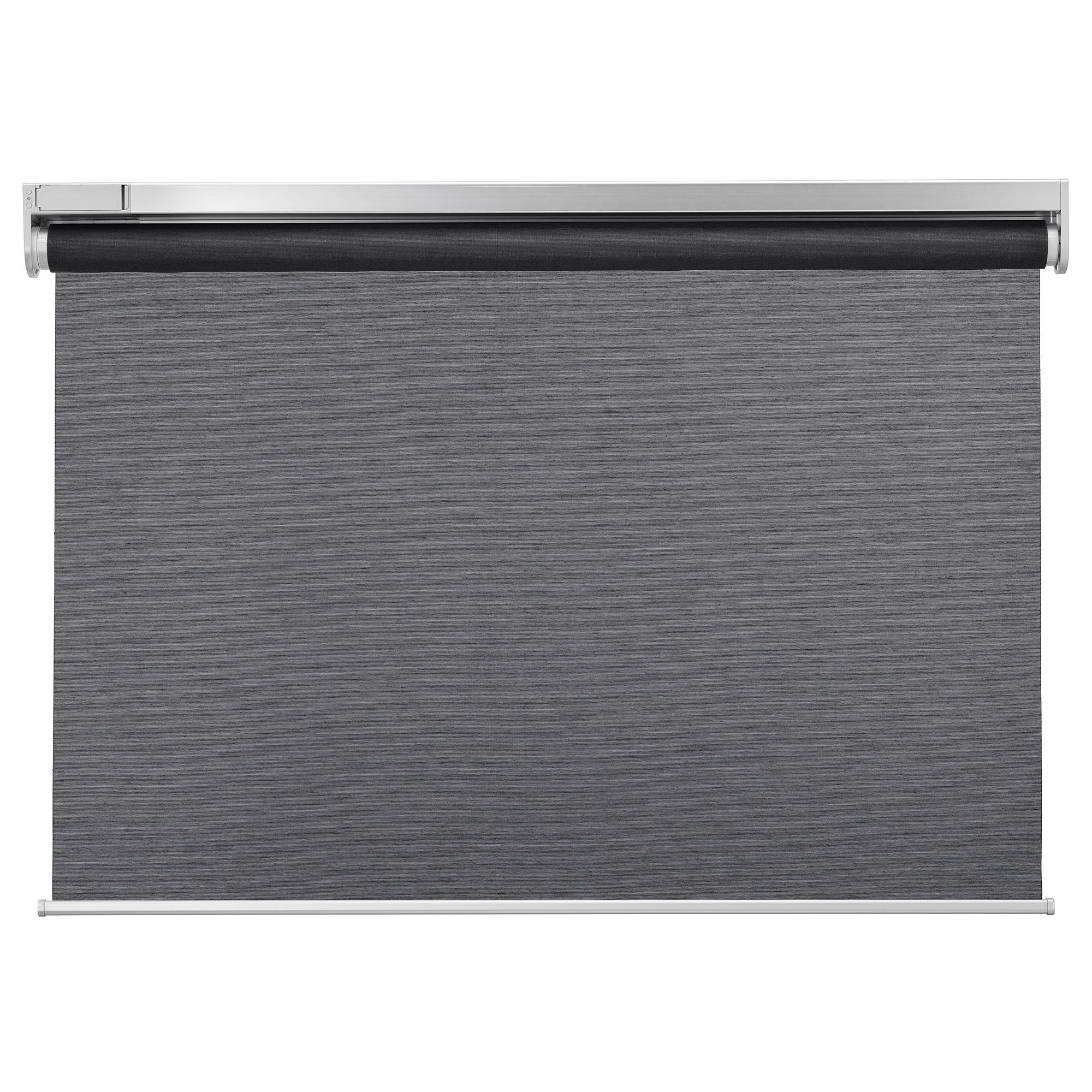 KADRILJ - 捲軸簾, 100x195cm, 無線/電池操作 灰色 | IKEA Hong Kong