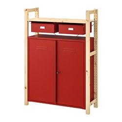 IVAR - 層架組, 不曉得什麼時候又會被孩子們塞滿呢? 換了衣櫃後, 松木 | IKEA 臺灣