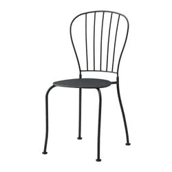 metal outdoor chair swing plastic dining chairs ikea lacko