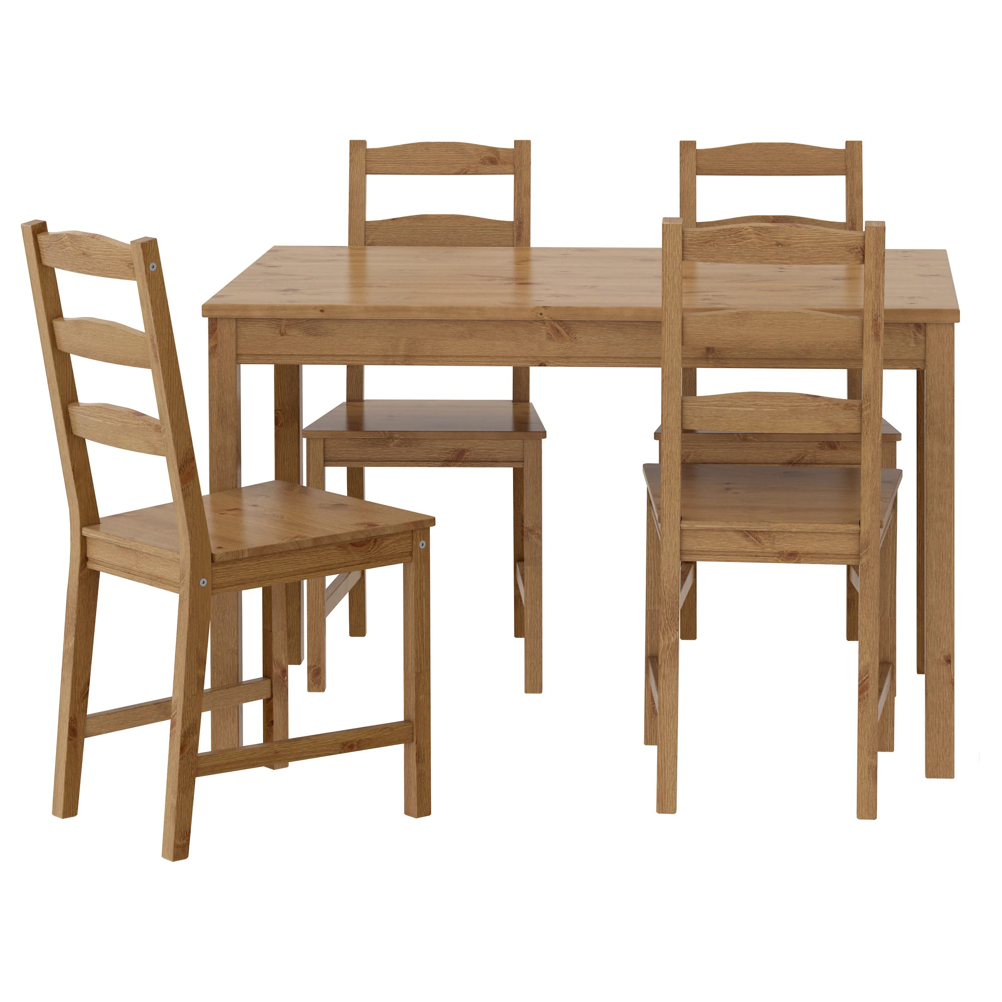 set of 4 chairs wooden accent with arms jokkmokk table and ikea feedback
