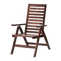 folding chair outdoor child s table and chairs asda patio furniture applaro series ikea reclining