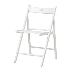 ikea folding chair ghost dining chairs terje white