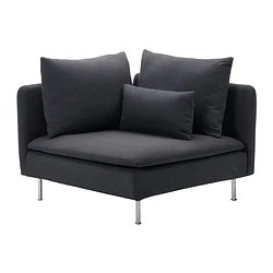 sofa express isle of man the most expensive in world soderhamn series ikea corner section samsta dark gray