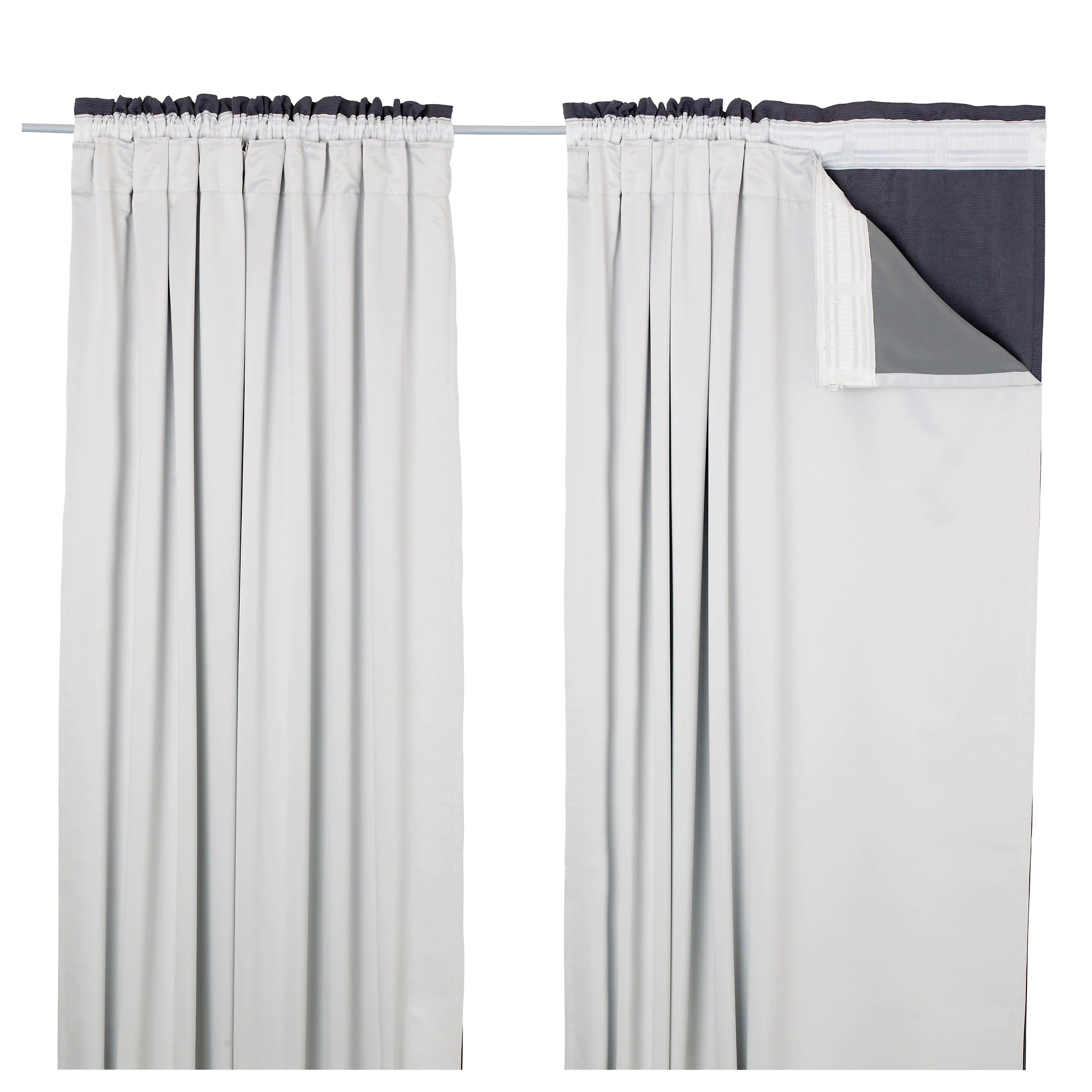 "GLANSNÄVA Curtain Liners 1 Pair 56x94 "" IKEA"
