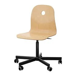 red desk chair ikea reclining dining room chairs vagsberg sporren swivel
