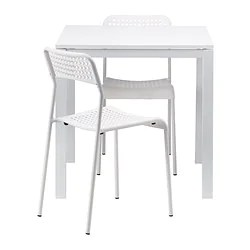 2 chair dining set what is a geri used for sets up to seats ikea melltorp adde table and chairs