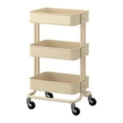 Rolling Cart For Kitchen Rustic Cabinet Raskog Utility Ikea Islands Carts