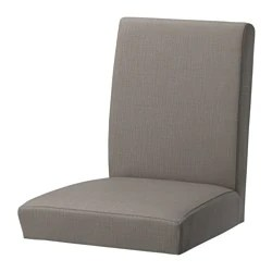 ikea linen chair covers p pod for sale henriksdal cover