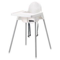 Small High Chair Wrought Iron Bistro Chairs Antilop With Tray Ikea Feedback