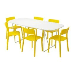 table and 6 chairs spa pedicure suppliers australia dining sets up to seats ikea oppeby backaryd janinge