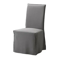 anna slipcover chair collection acrylic ghost with chrome frame covers ikea henriksdal cover long
