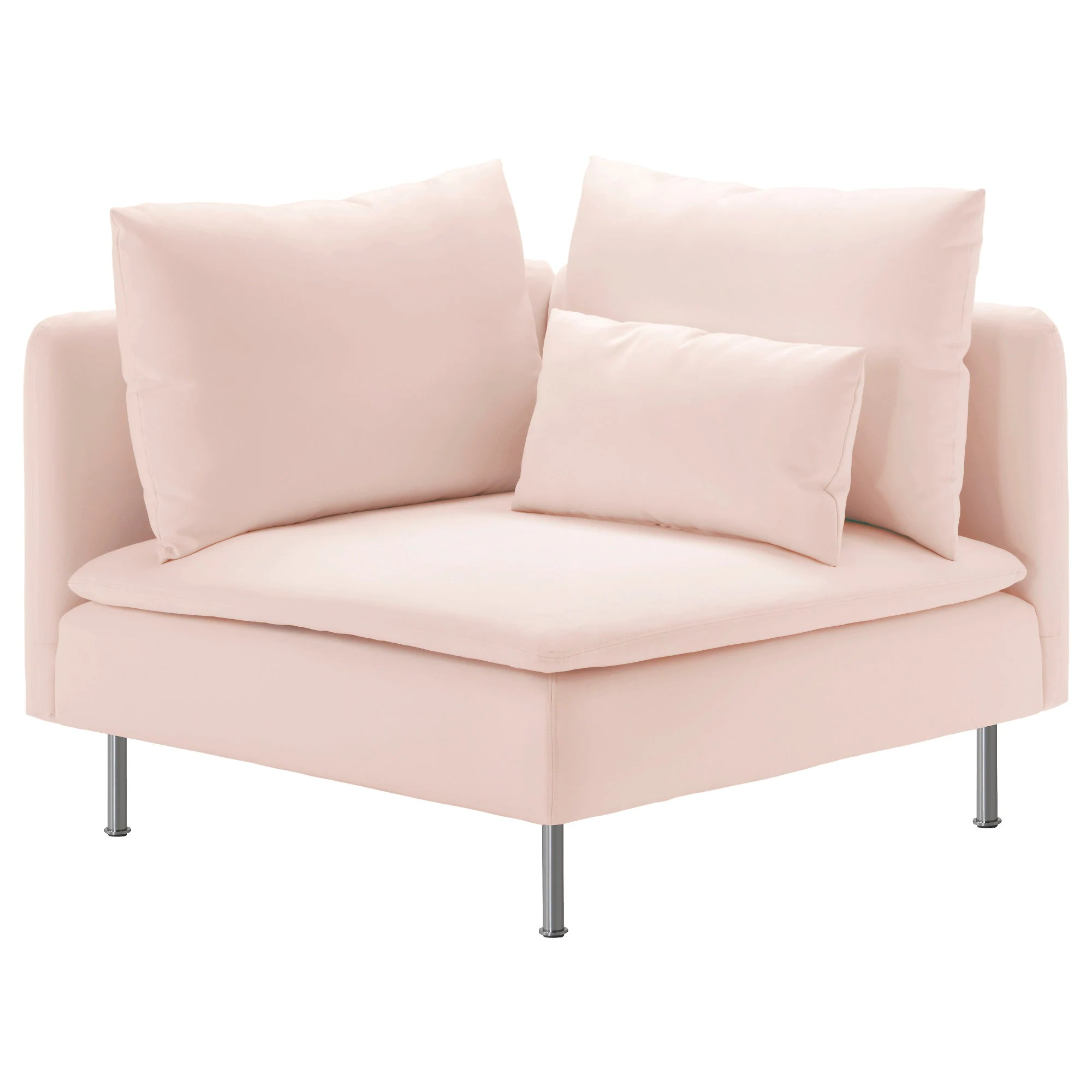 light pink sofa bed karlstad 3 seater inspirational couch or darling