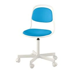 ikea office chair white distressed leather desk chairs orfjall child s