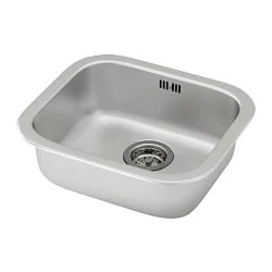 60 40 kitchen sink free standing cabinet 水槽 ikea fyndig 嵌入式單槽水槽