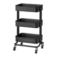 Rolling Cart For Kitchen Can Lights In Raskog Utility Ikea Islands Carts