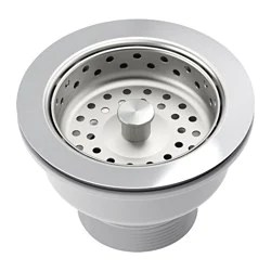 kitchen sink plug hole fitting remodelling accessories for sinks ikea kitchens lillviken strainer with stopper