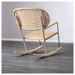 Wicker Rocking Chairs Kids Wooden Table And Set Gronadal Chair Ikea
