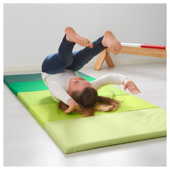 IKEA PLUFSIG Folding gym mat