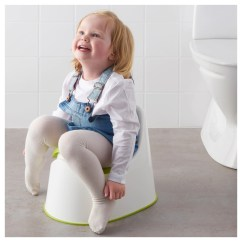 Potty Chair Large Child Blue Accent With Ottoman Lockig Children S Ikea