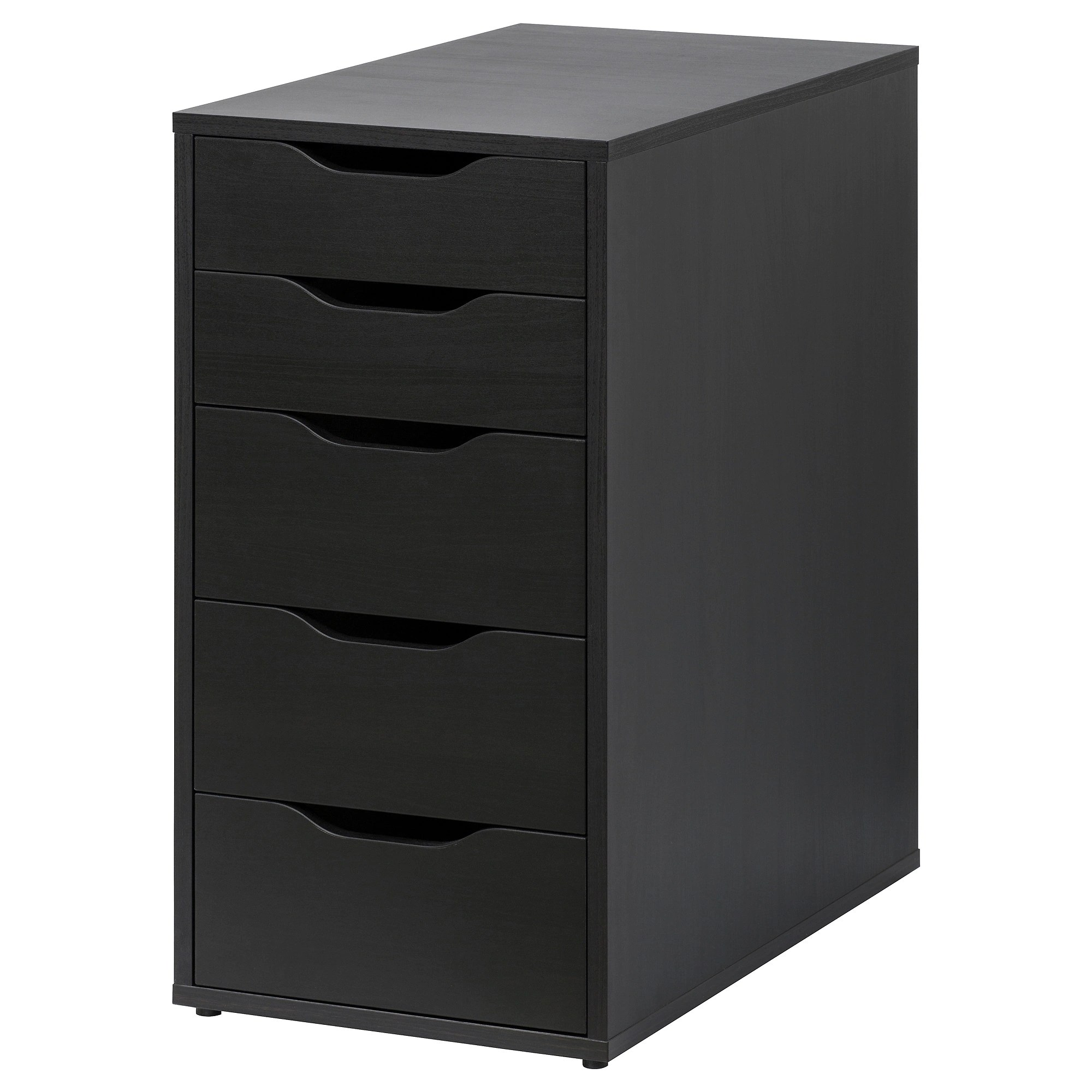 Drawer Unit Alex Black Brown