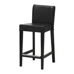 kitchen stools ikea island bar henriksdal stool with backrest