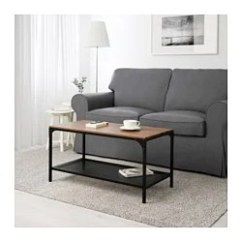 Tables In Living Room Inspiration Brown Leather Sofa Coffee Side Ikea Fjallbo Table