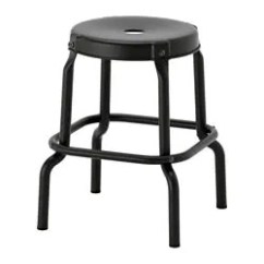 Chair Stool Black Hanging For Garden Raskog Ikea