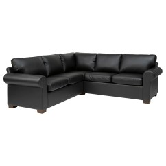 Buchannan Faux Leather Sectional Sofa With Reversible Chaise Chestnut Ikea Rp Bed Loveseat