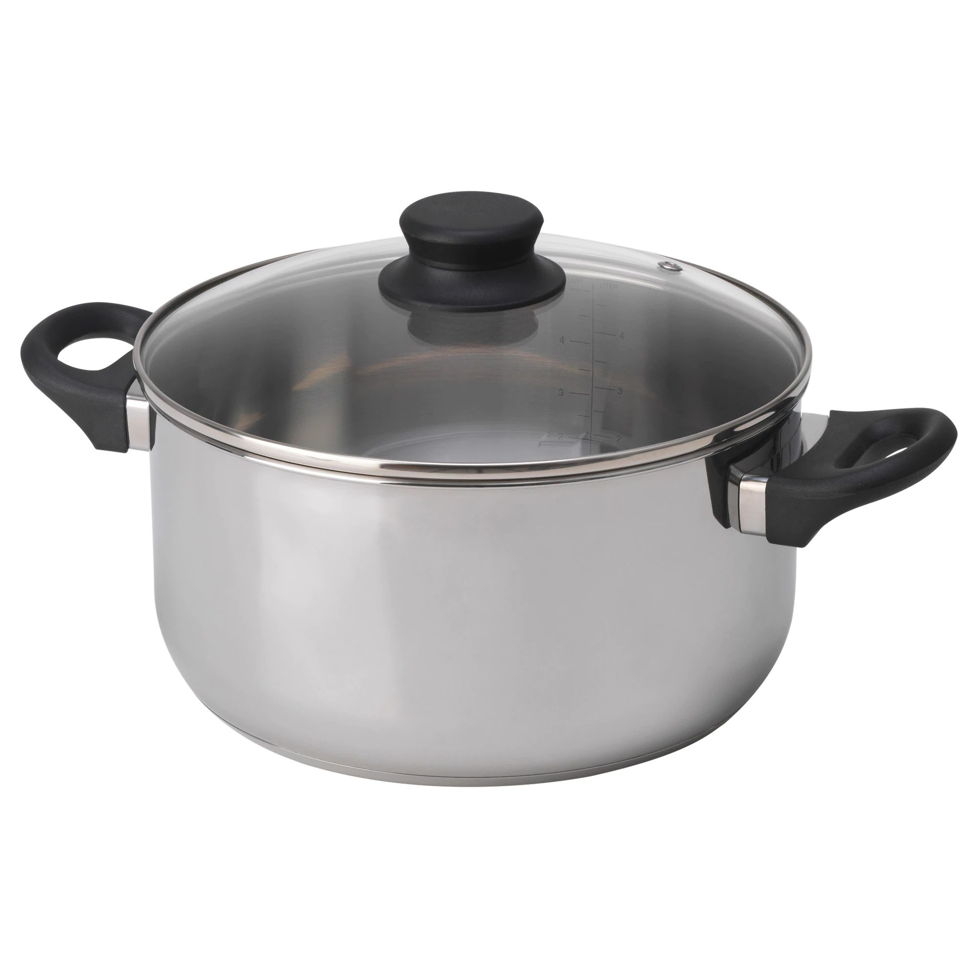 6 Qt Dutch Oven Stainless Steel Pot - Great for One Pot Meals