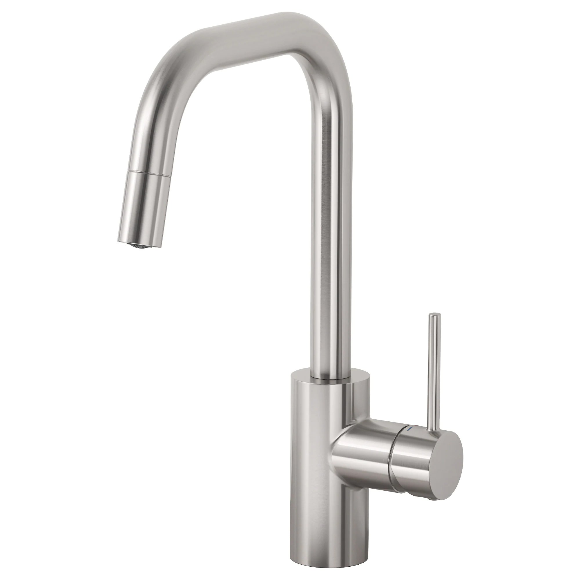 stainless kitchen faucet renovation on a budget almaren with pull out spout ikea this is