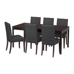 Dining Room Sets 6 Chairs Lego Table With Storage And Up To Seats Ikea Ekedalen Henriksdal