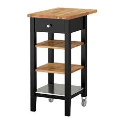 rolling cart for kitchen best off white color cabinets islands carts ikea kitchens stenstorp