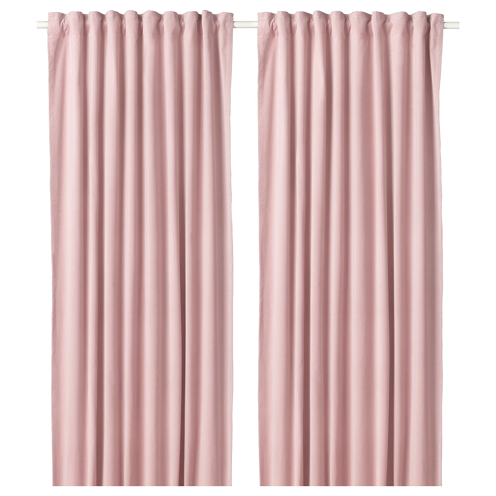 Pink Girl Curtains  Best Home Decorating Ideas