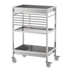 Rolling Cart For Kitchen Hgtv Backsplash Islands Carts Ikea Kitchens Kungsfors Stainless Steel