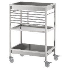Stainless Kitchen Cart Island Portable Kungsfors Ikea This Is