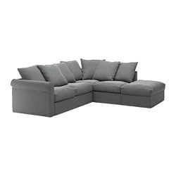 sectional sofa couch old sofas for charity ikea gronlid 4 seat corner